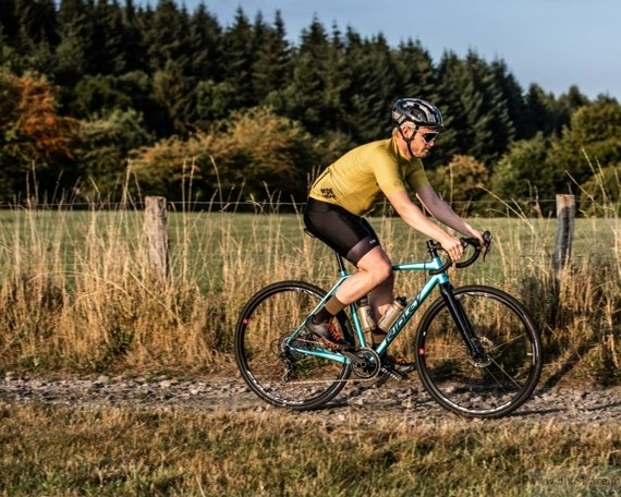 Rower gravel RIDLEY X-TRAIL A - Ultegra ML Road Hydraulic Disc – kolor XTA-02AST (Yellow-Belgian Blue-Black Reflective)