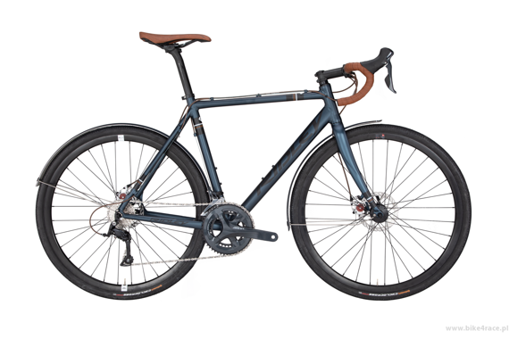 Rower przełajowy RIDLEY X-BOW DISC ALLROAD - Sora Mechanical Disc – kolor XBO-02AM (Steel Blue-Black)