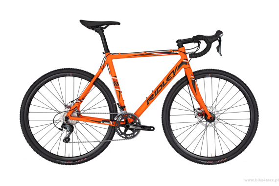 Rower przełajowy RIDLEY X-BOW DISC - Tiagra Mechanical Disc – kolor XBO-01CM (Orange-Black)