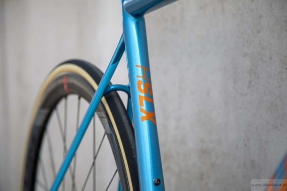 Rower szosowy RIDLEY HELIUM SLX DISC - Force eTap AXS – kolor HXD-04BS (Blue Metallic-Belgian Blue-Rich Orange Metallic)