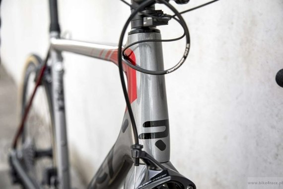 Rower szosowy  RIDLEY HELIUM SLX - Ultegra Race – kolor HSLX-04AS (Steel Grey-Black-Candy Red Metallic)
