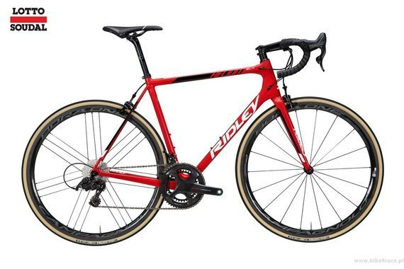 Rower szosowy  RIDLEY HELIUM SLX - Ultegra Race – kolor R-HSLX-09AS (Lotto-Soudal Team Replica)
