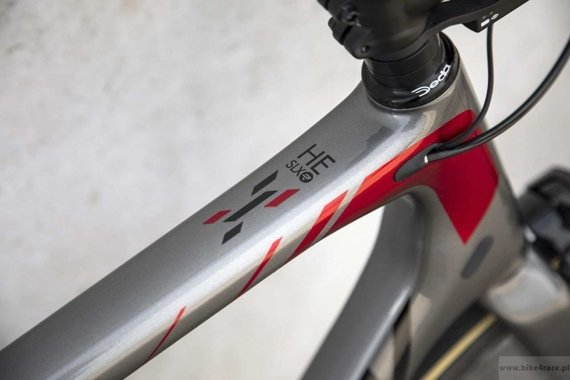 Rower szosowy  RIDLEY HELIUM SLX - Ultegra – kolor HSLX-04AS (Steel Grey-Black-Candy Red Metallic)