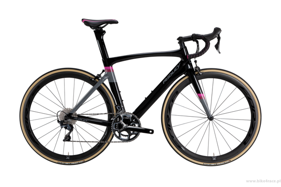 Rower szosowy RIDLEY JANE - Ultegra ML - kolor JANE-02AS (Black-Pink-Grey)